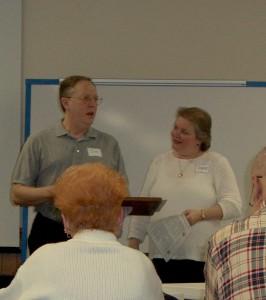 Jim & Diane teaching